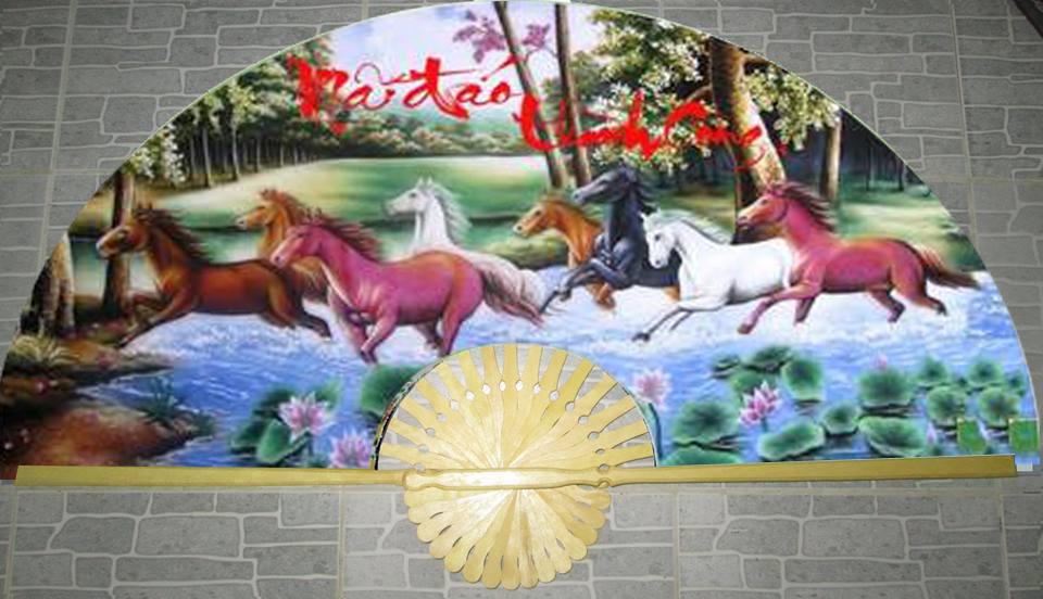 Tranh ngựa và những điều cấm kỵ