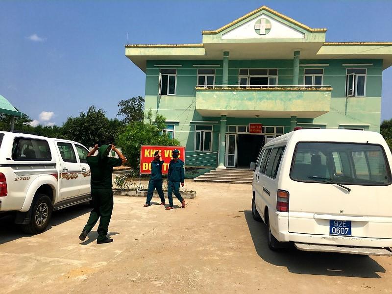 Quế Sơn đưa 19 người về từ vùng dịch đi cách ly tập trung