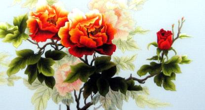 Ý nghĩa tranh hoa Mẫu đơn Uyên ương